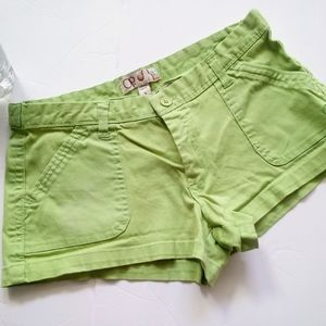 Cotton twill shorts size 1
